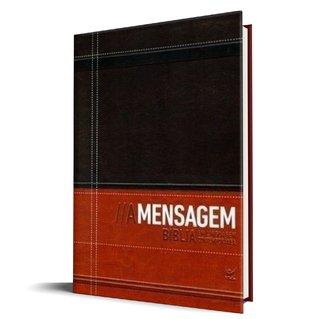 Bíblia A Mensagem - Luxo Marrom e Café