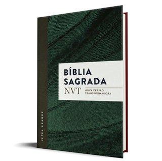 Bíblia NVT - Verde (Letra Grande / Brochura c/ Orelhas)