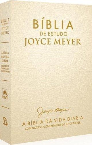 Bíblia de Estudo Joyce Meyer - Dourada