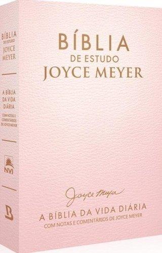 Bíblia de Estudo Joyce Meyer - Rosa
