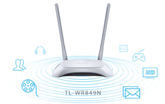 Roteador Wireless N 300Mbps TL-WR849N na internet