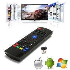 Controle Air Mouse Mini Teclado Wireless Smart Tv Pc Tv Box - comprar online