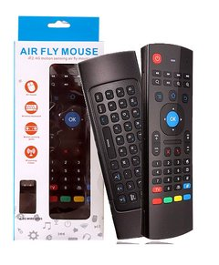 Controle Air Mouse Mini Teclado Wireless Smart Tv Pc Tv Box