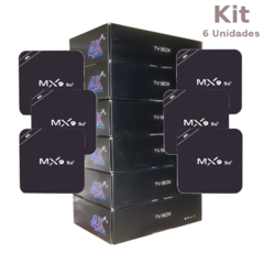 Kit Tv Box Mx9