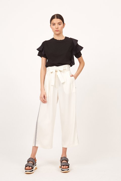 PANTALON TADEO OFF WHITE