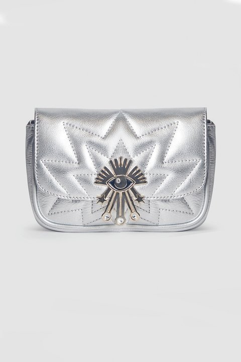 BELT BAG LUCKY EYE PLATA - comprar online