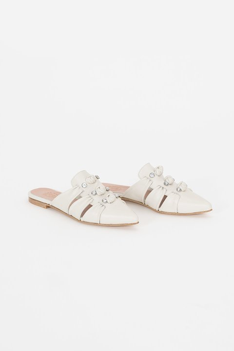 Leblon Leather Mules - buy online