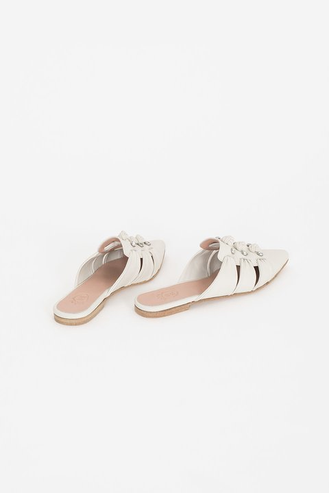 Leblon Leather Mules - online store