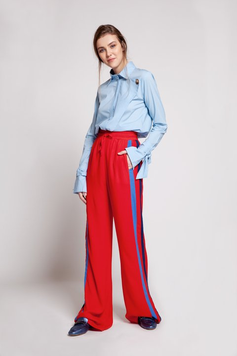 pantalon york rojo