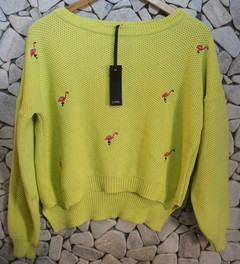 SWEATER FLAMINGO