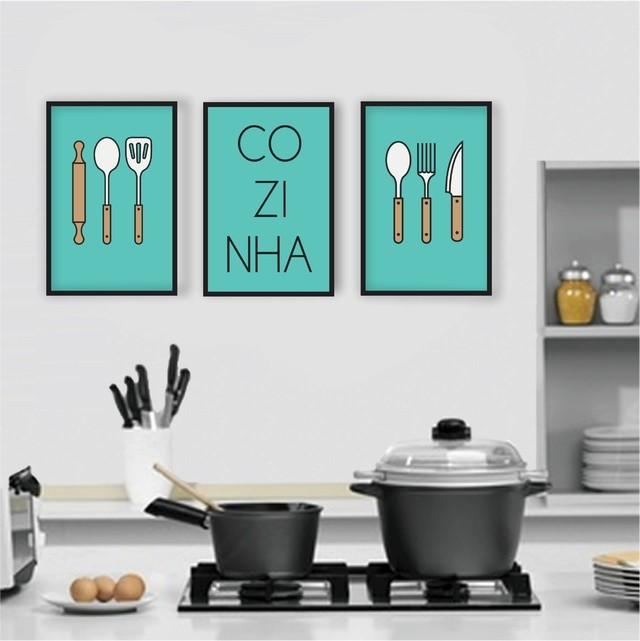 Placa decorativa mdf retr frases cozinha 22 - Placas decorativas para pared interior ...