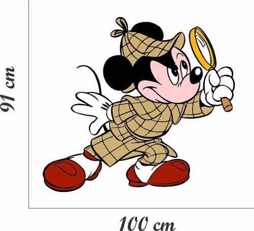 Adesivo Parede Infantil Disney Mickey Mouse Espiao Desenho