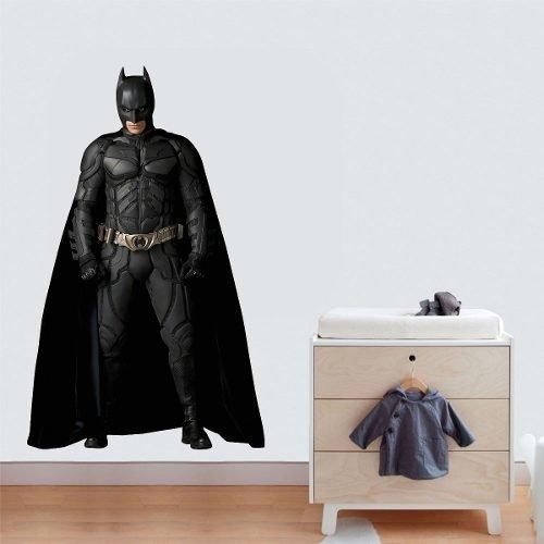 0f79b259cc1785 Adesivo Parede Quarto Infantil Super Heroi Batman Vingadores