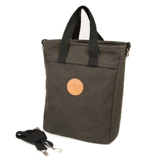 TOTEBAG PANNIER | Washed black