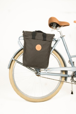 TOTEBAG PANNIER | Washed black - buy online