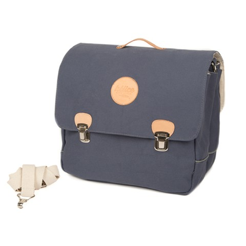 BRIEFCASE SADDLE BAG | Blue indigo - buy online