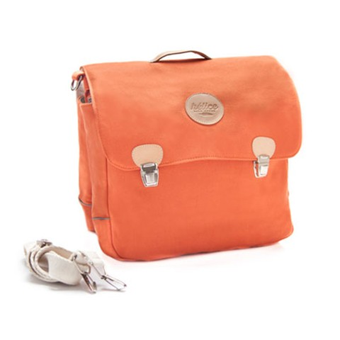 BRIEFCASE SADDLE BAG  | Rusty orange