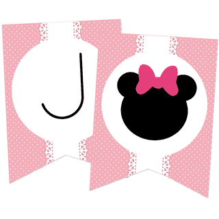 Kit imprimible Minnie (rosa)