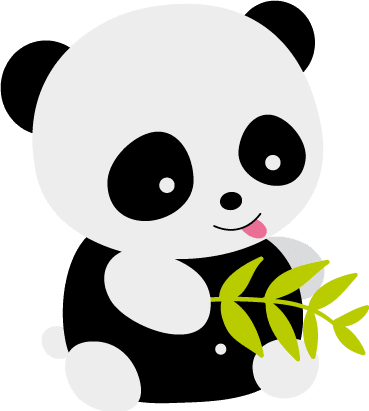 Kit imprimible Oso Panda en internet