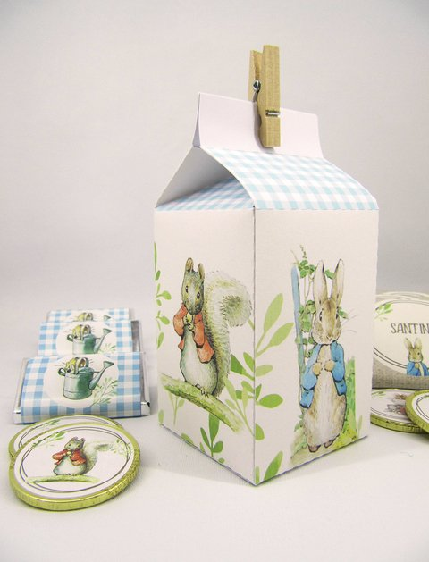 Milkbox Peter Rabbit x 5 unidades - comprar online