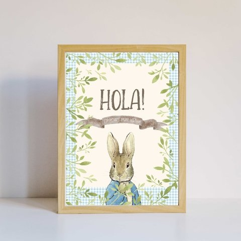 Decoración de fiesta Peter Rabbit - comprar online