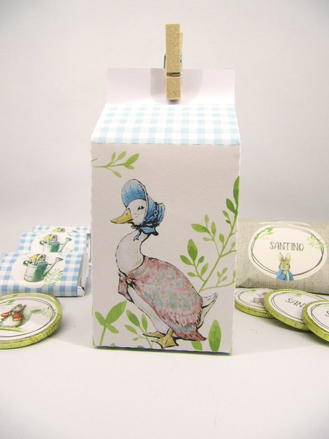 Milkbox Peter Rabbit x 1 unidad - CumpleKits