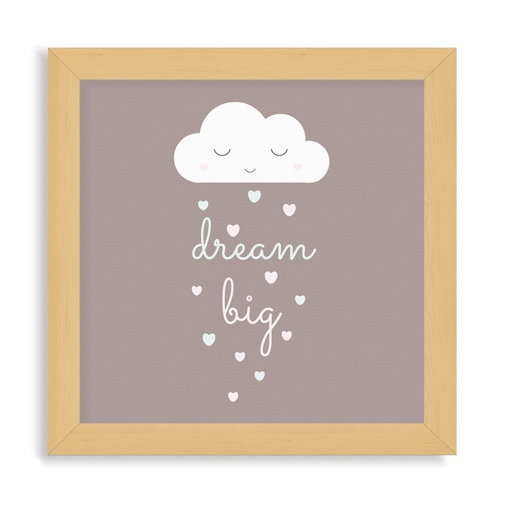 Dream big (20x20 chato)