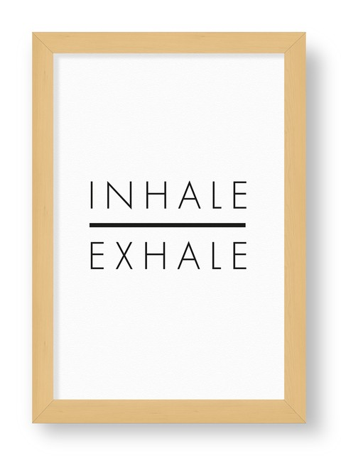 CUADRITO INHALE EXHALE
