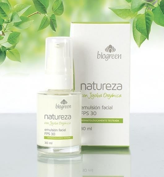 Emulsion Facial- NATUREZA de Biogreen
