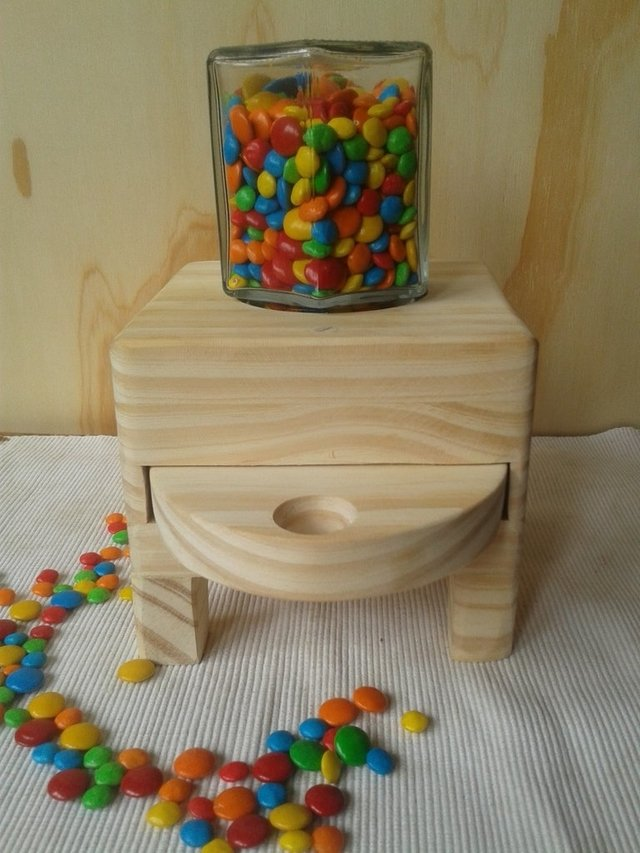 Dispenser de Golosinas/Semillas/Cereales