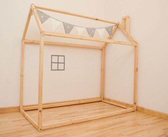 Cuna de piso Casa Montessori