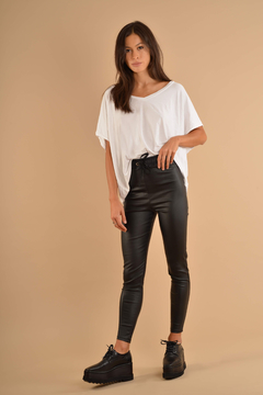 Pantalon Cindy engomado /black