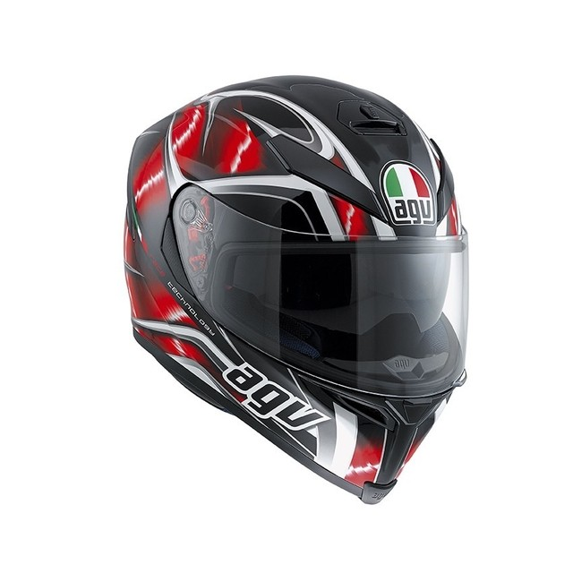 K-5 MULTI HURRICANE BLACK RED/WHITE