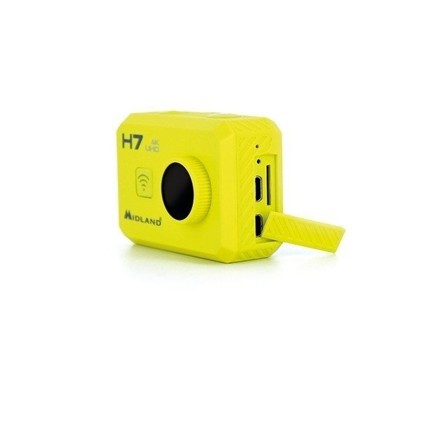 H7 ACTION CAMERA 4K WITH LCD 2 + REMOTE CONTROL - Tienda Ciao Italia