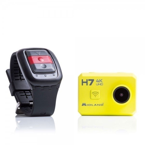 H7 ACTION CAMERA 4K WITH LCD 2 + REMOTE CONTROL - comprar online