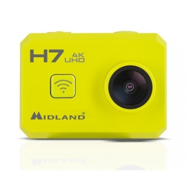 H7 ACTION CAMERA 4K WITH LCD 2 + REMOTE CONTROL