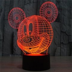 LAMPARA LED MULTICOLOR CON CONTROL MICKEY en internet