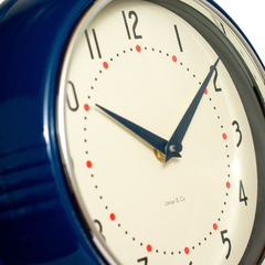 50´S RETRO WALL CLOCK - arteregal