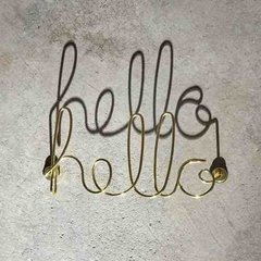 HELLO Y COOL CARTEL DECORATIVO - tienda online