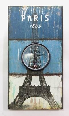 RELOJ DE PARED PARIS - NEW YORK - comprar online
