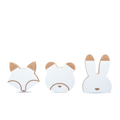 PERCHEROS ANIMALITOS x3 - comprar online