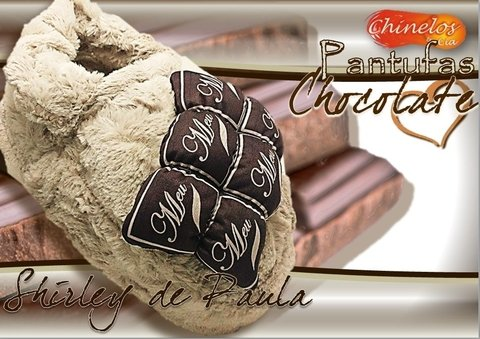 Pantufas Chocolate
