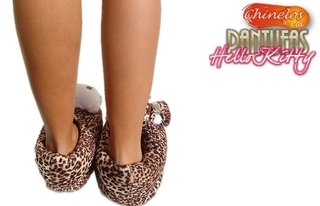 Pantufas fechadas Hello Kitty - Chinelos & Cia