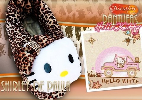 Pantufas Hello Kitty