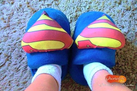 Pantufas Superman na internet