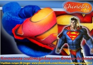 Chinelos de Inverno Superman