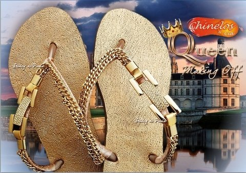 Havaianas customizadas Queen