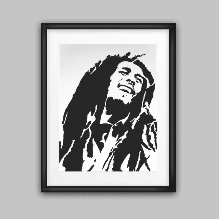 Cuadros iconos Bob Marley - Comprar en CIELD