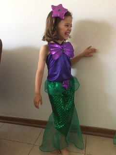 Sirenita little mermaid - comprar online