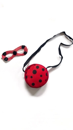 Kit Lady Bug (antifaz y cartera)